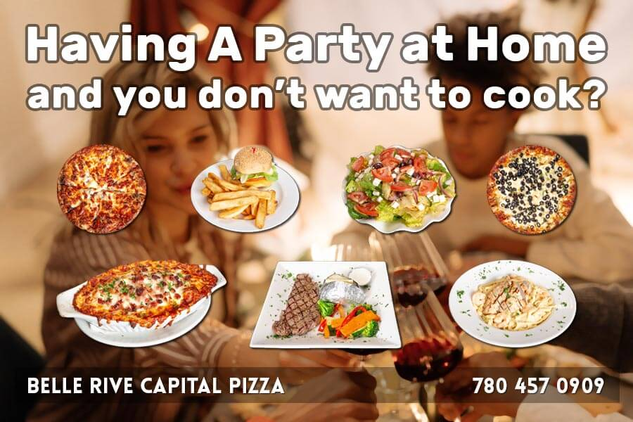 Choose Capital Pizza to cater your party. Free Delivery on Orders over $100. Call for Details