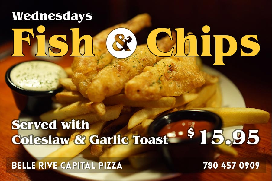 Wednesday Fish & Chips $15.95